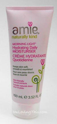 Amie's Morning Light Hydrating Daily Moisturizer Review