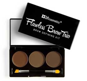 BH Cosmetics Flawless Brow Trio in Light Review Swatch