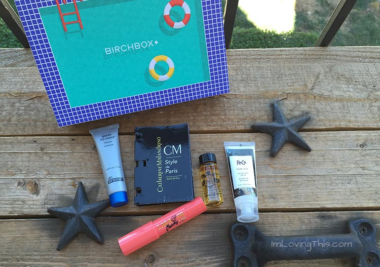 Birchbox Opening and Review August 2015