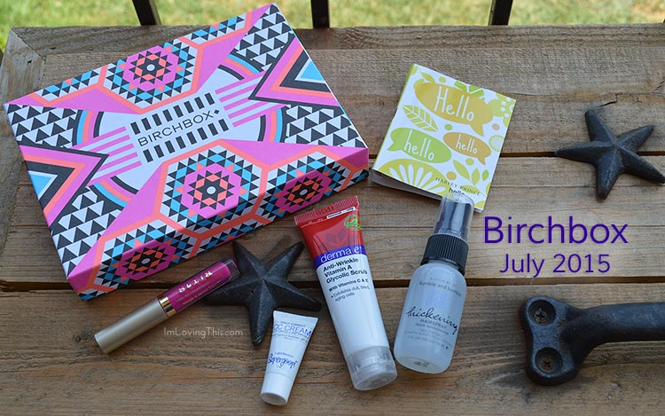 Birchbox Opening and Review July 2015
