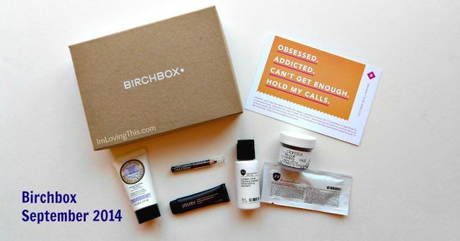 Birchbox October 2014
