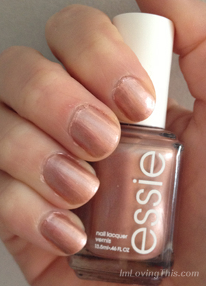 Essie Buy Me A Cameo Swatch & Review
