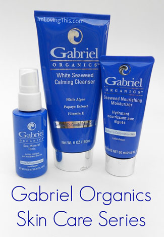 Gabriel Organics Skin Care Series Review