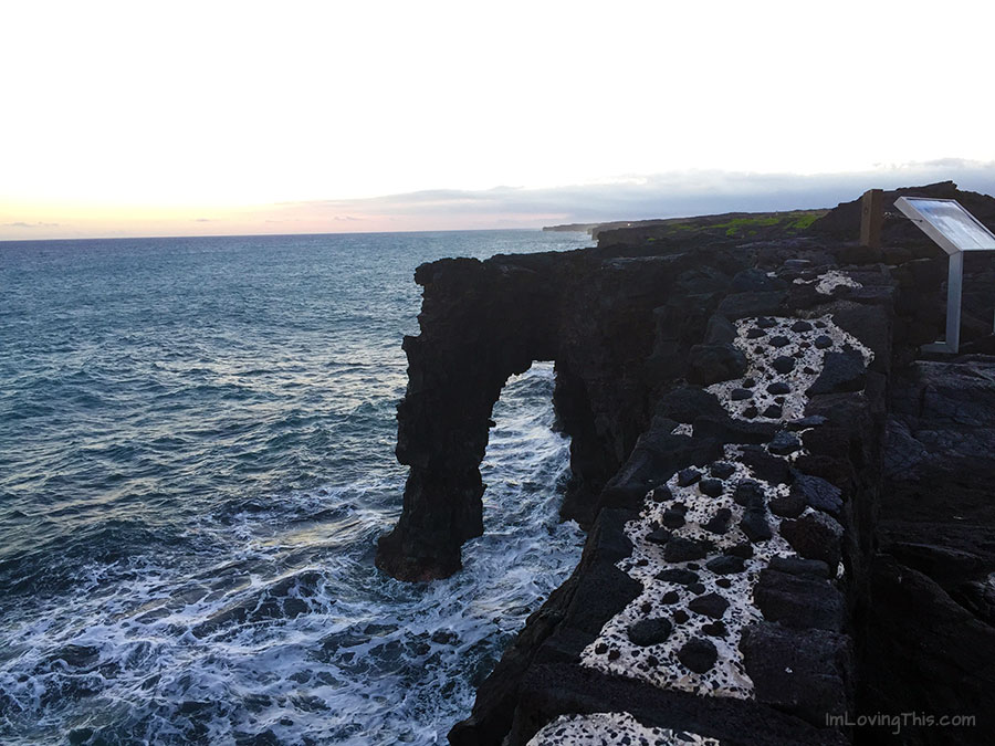 Holei Sea Arch Hawaii