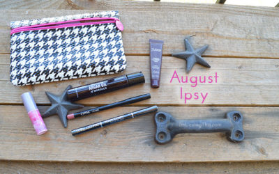 Ipsy Glam Bag Opening and Review – August 2015