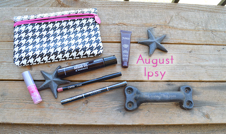 Ipsy Glam Bag Review Opening August 2015