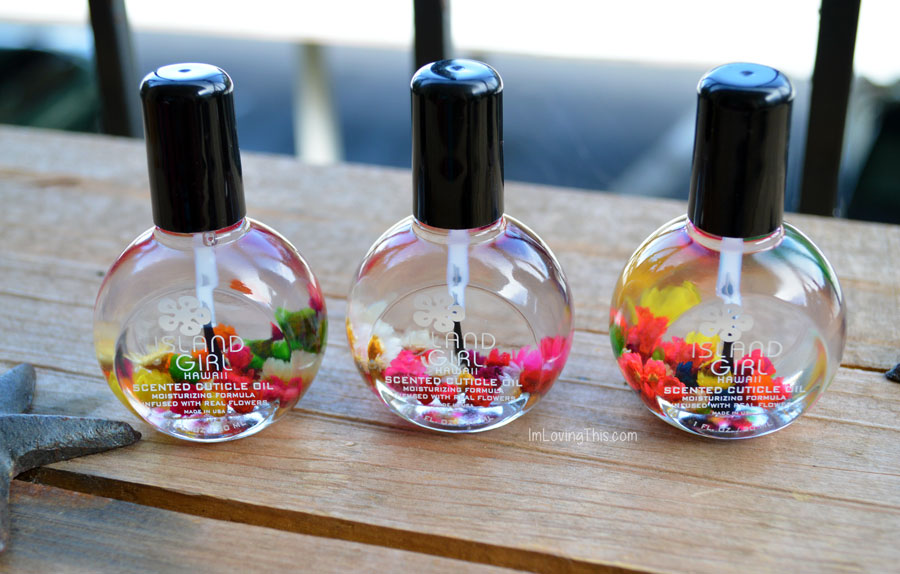 Island Girl Hawaii Scented Cuticle Oil Review
