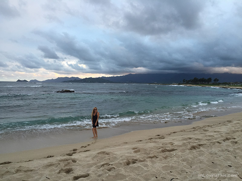 Kaneohe Bay Marine Corps Base Beach
