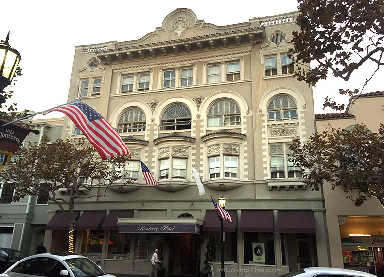 Montery Hotel Monterey California