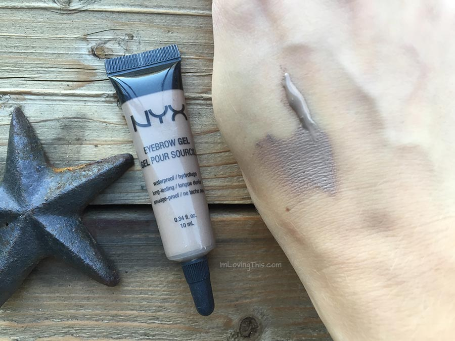 NYX Eyebrow Gel Review