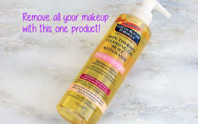 Review of Palmer's Cocoa Butter Formula Skin Therapy Cleansing Oil Face