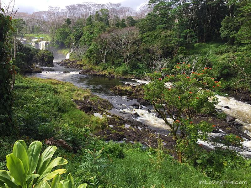 Pe'epe'e Falls Hawaii The Big Island Waterfalls