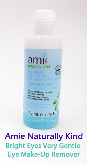 Amie Naturally Kind Bright Eyes Very Gentle  Eye Make-Up Remover Review