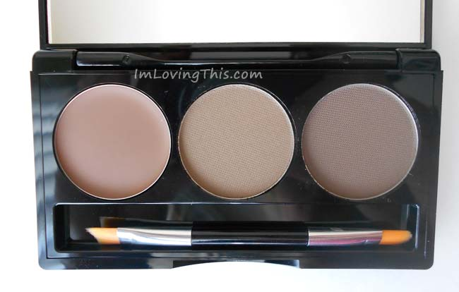 BH Cosmetics Flawless Brow Trio Kit in Light
