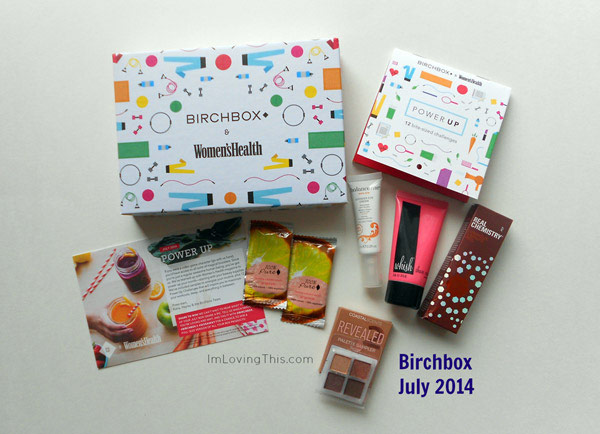 Birchbox July 2014 Unboxing
