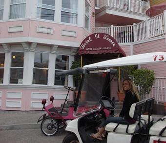 catalina island golfcart