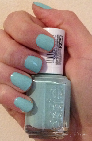 Essie Mint Candy Apple Swatch