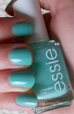 Essie Turquoise and Caicos Swatch