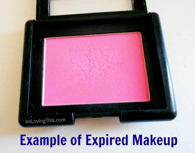 example of expired makeup