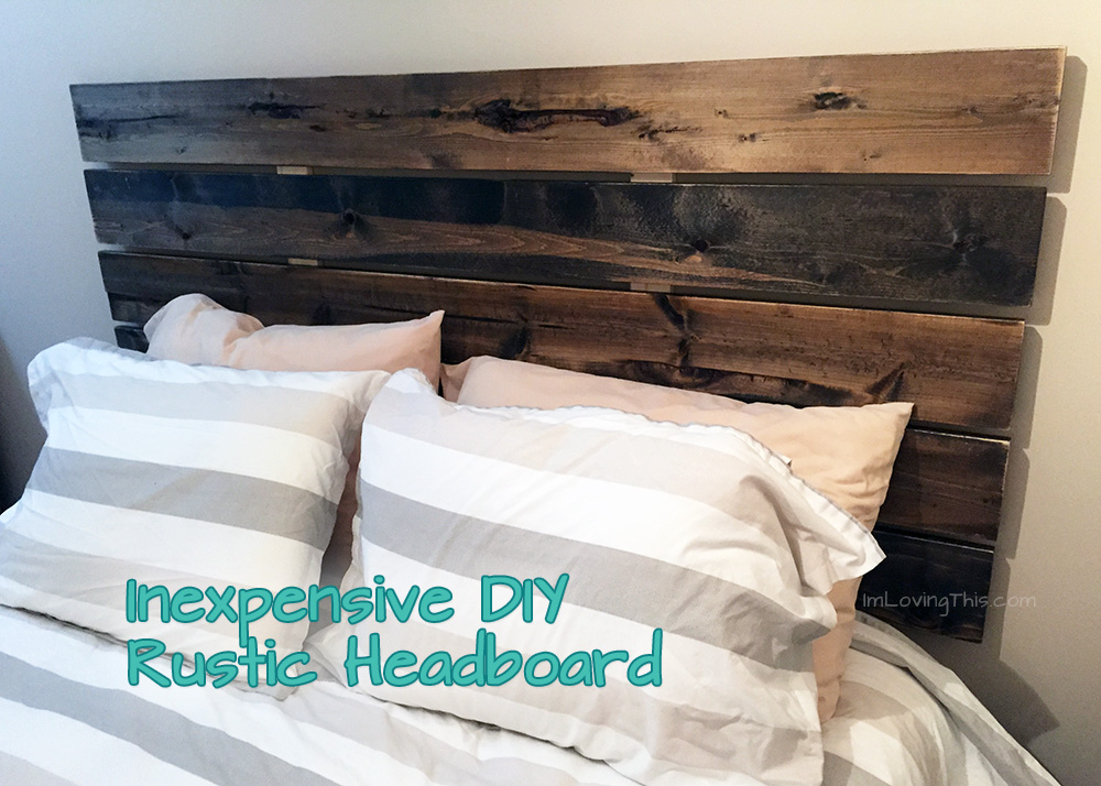 Rustic Headboard Diy Prepossessing Diy Rustic Headboard  Diy Headboard For Under $50 Review