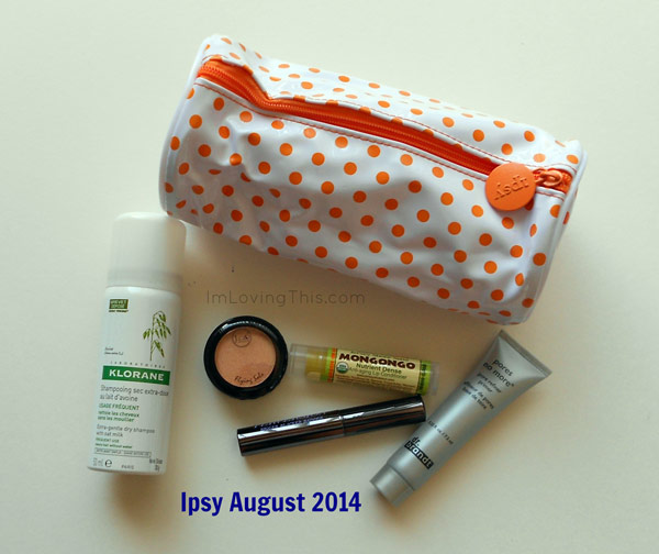 Ipsy Glam Bag August 2014