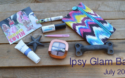 Ipsy Glam Bag July 2015