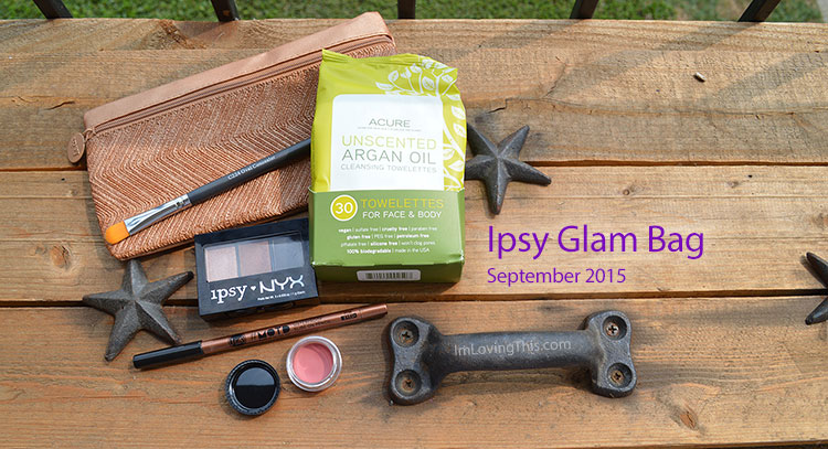 Ipsy Glam Bag Opening Review September 2015