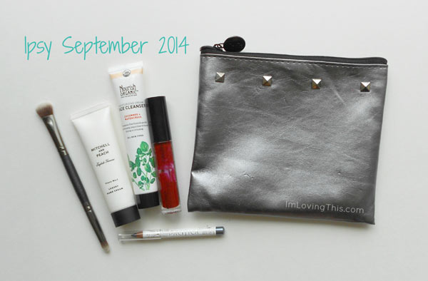 Ipsy September 2014 Glam Bag