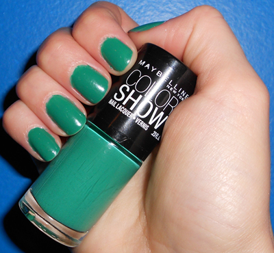 Maybelline Color Show Tenacious Teal