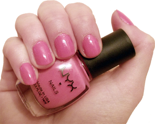 NYX Nails – Mango Cafe Review