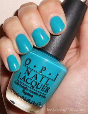 OPI Fly Swatch Review
