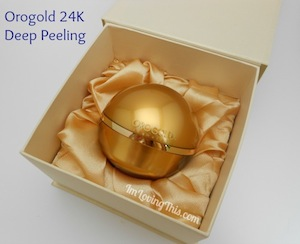 Orogold Cosmetics 24K Deep Peeling Review