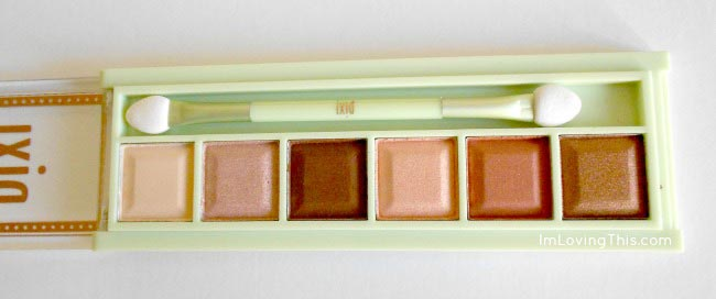 Pixi Mesmerizing Mineral Palette in Copper Peach Review