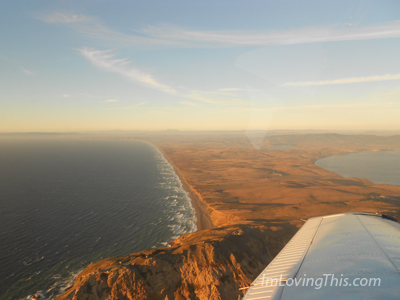 Private Flight to Dinner at Half Moon Bay