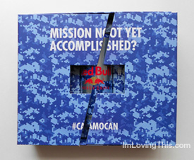 Red Bull Camouflag Can Limited Edition
