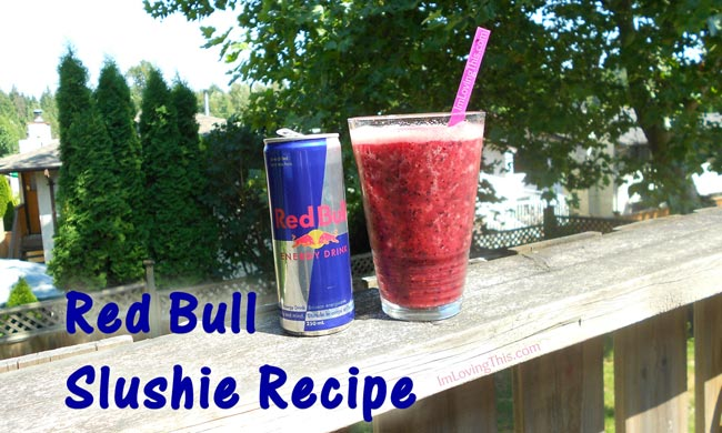 Red Bull Slushie Recipe - Red Bull Slush Recipe from ImLovingThis.com