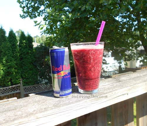 Red Bull Slushie Recipe