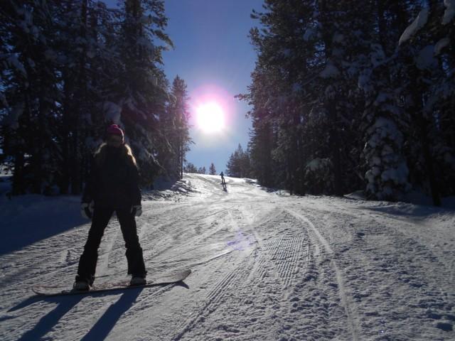 snowboarding montana 2012