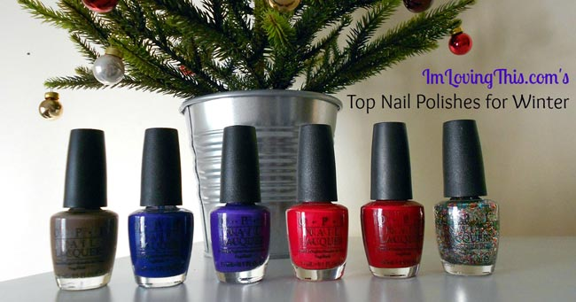 Top 5 Nail Polishes for Winter