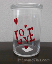 Valentine's Day Jar