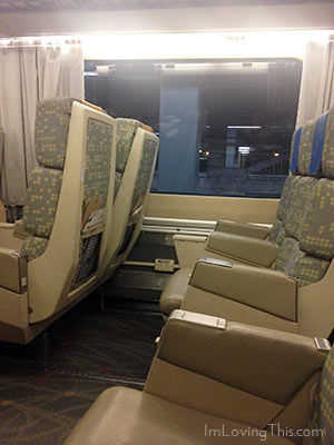 VIA RAIL Seating