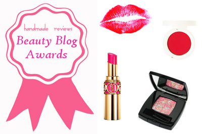 Nominated for 2011 Beauty Blog Award