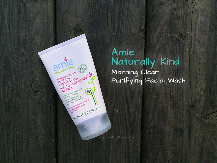 Amie Naturally Kind Morning Clear Purifying Facial Wash Review