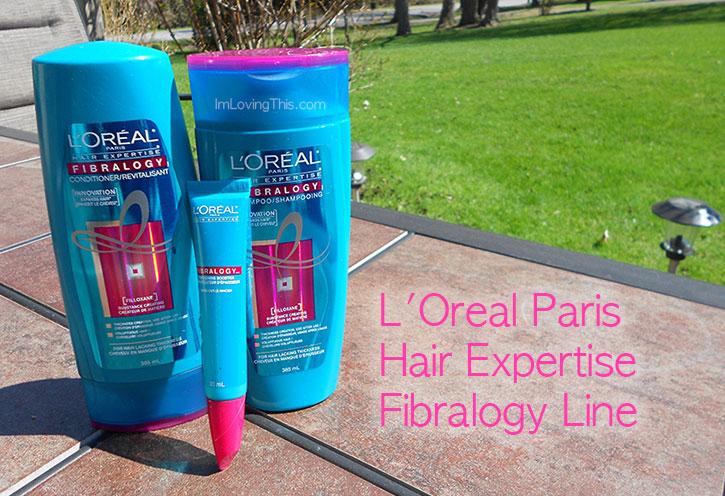 L'Oreal Paris Hair Expertise Fibralogy Line Review