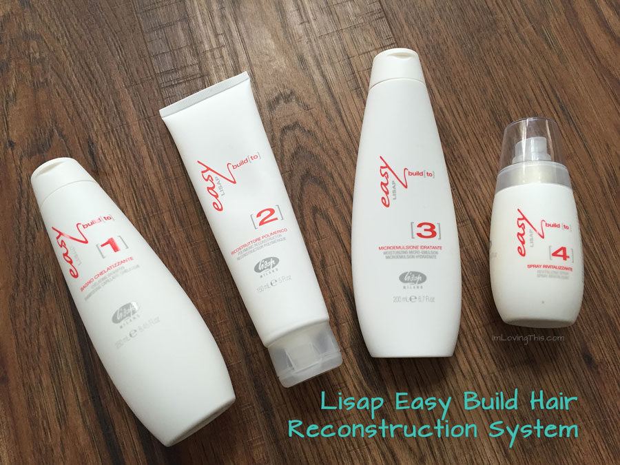 Lisap Easy Build Hair Reconstruction System Review