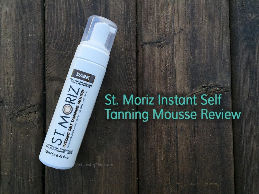 St. Moriz Instant Self Tanning Mousse Review