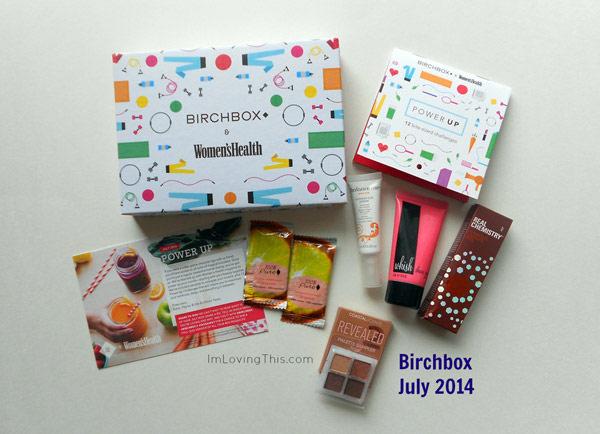 Birchbox July 2014 Unboxing