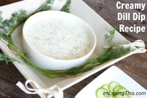 Creamy Dill Dip Recipe