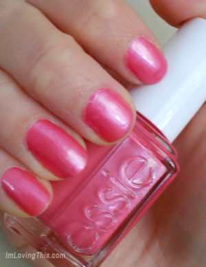 Essie Strawberry Shortcake Swatch