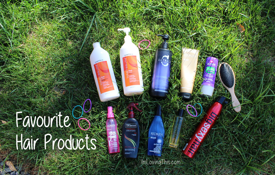 Current Favourite Hair Care Products